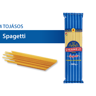 Spagetti 4-tojàsos
