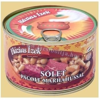 Cassoulet au bœuf fumé 400g--Sólet pácolt marhahússal 400g