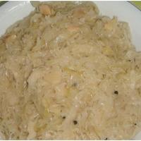 Choucroute cuite