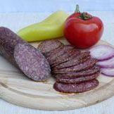 Salami à l'ail de bœuf gris