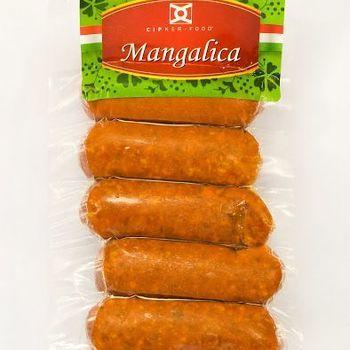 Saucisses mangalica Debreceni pikant--cuit