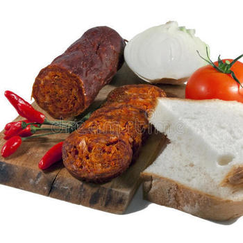 Salami doux au paprika
