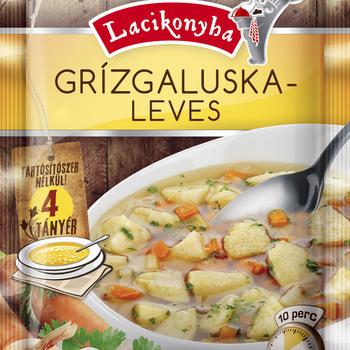 Soupe aux épinards grillés
