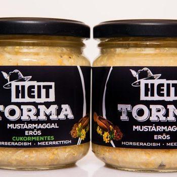 Raifort râpé aux graines de moutarde  sans sucre ajouté (180 g)