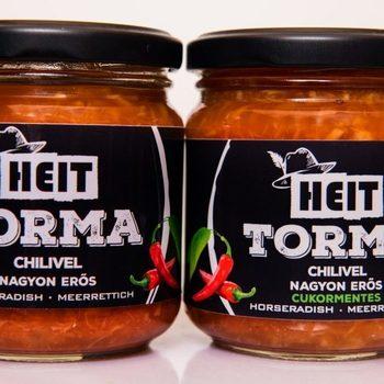 Raifort râpé au piment chili sans sucre ajouté (180 g)