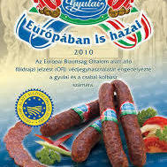 Gyulai kolbász 1000 g--Saucisson de porc fumée Gyulai