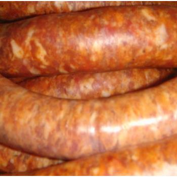 Saucisses fraîches au paprika-kg